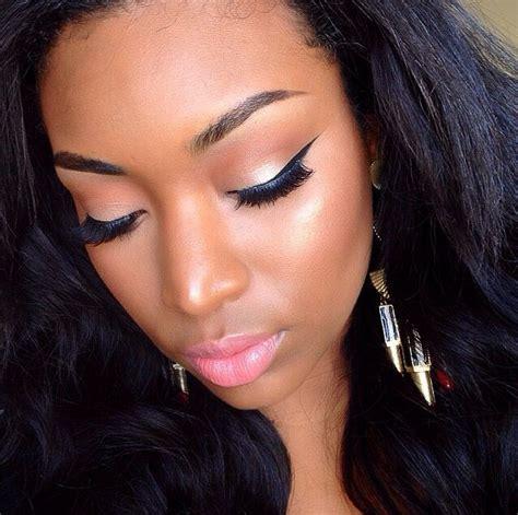 makeup for women over 90 neutral eye makeup for black women www imgkid com the
