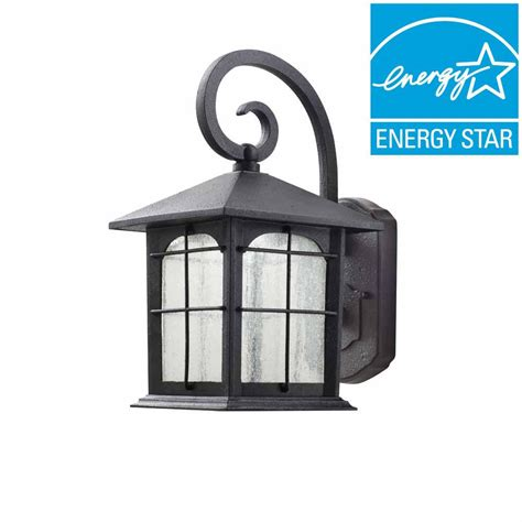 home decorators collection aged iron outdoor led wall