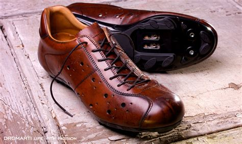 leather bike shoes fancy dromarti sportivo quot classic quot leather cycling shoes