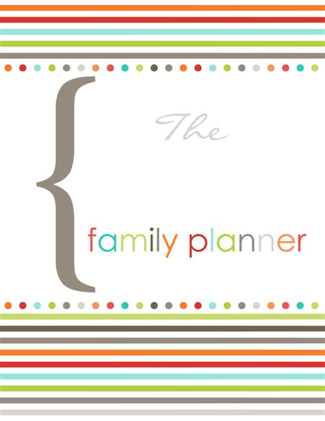 printable family organizer family organizer printable fillable pdf templates