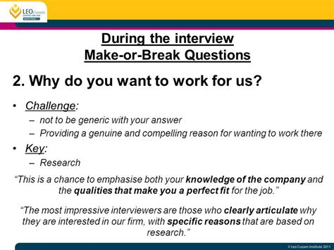 Why Do You Want To Do Mba Answer by Acing Graduate Interviews Ppt
