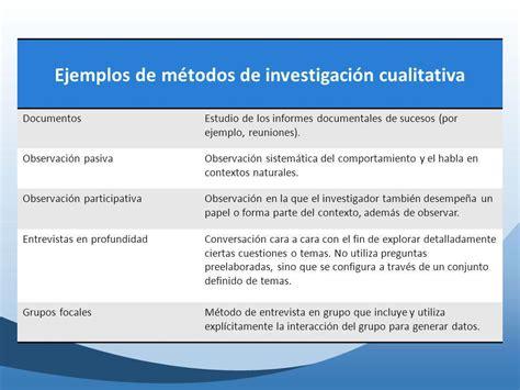 preguntas de investigacion cuantitativa ejemplos ejemplo de metodologia cualitativa ejemplo de