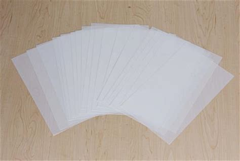 Film Paper | 8 1 2 quot x 14 quot frosted film paper for use with led menu series
