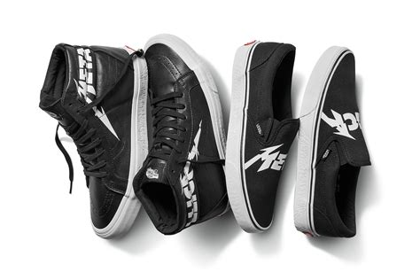 Vans X Metalica vans metallica join forces to debut exclusive capsule