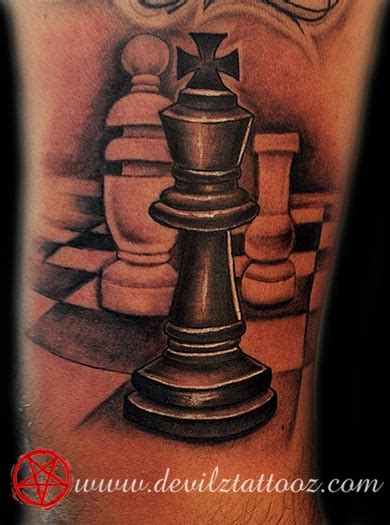 chess king tattoo designs work by artist chess king