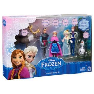 apakah ada film frozen 2 mattel disney frozen complete story set princess prince