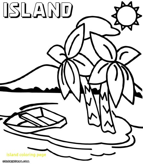 island coloring page with coloring pages 3772 free