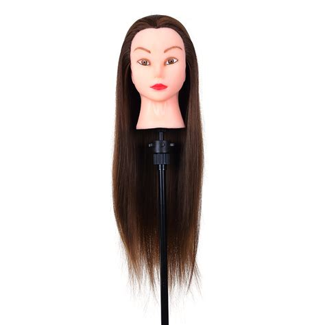 mannequin head to practice braiding in st louis 24inch hair styling mannequin head hairdressing training
