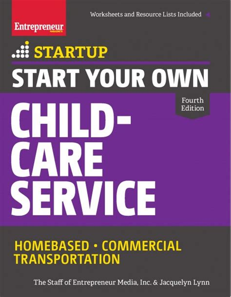 your own service start your own child care service