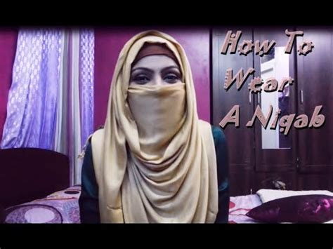 hijab tutorial with niqab simple niqab tutorial zerin s hijab bangla youtube