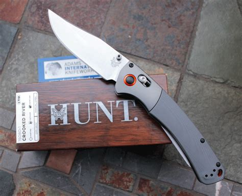 benchmade hunt series benchmade hunt 15080 1 crooked river w gray g 10 international knifeworks