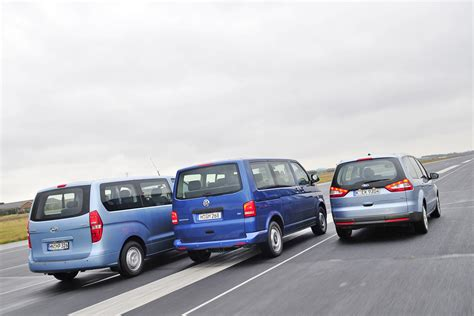 Motorrad Gegen Vw Bus by Der Neue Vw Multivan Gegen Hyundai H 1 Und Ford Galaxy