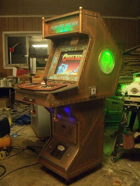 dr frankenstein arcade cabinet epic steunk gaming