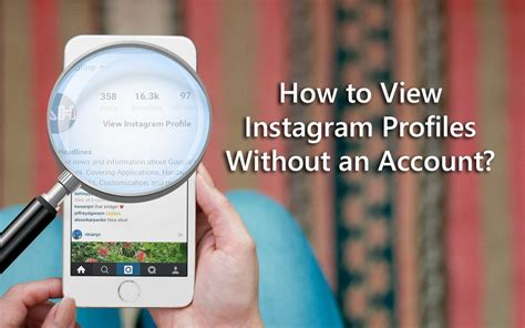 Search On Instagram Without An Account How To View Instagram Profiles Without An Account