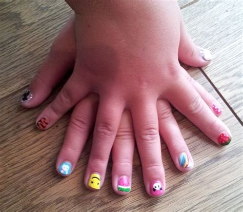 best 25 kid nail designs ideas on kid nails