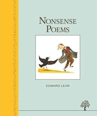 nonsense verse a selection of nonsense verse edward lear 9781405271820