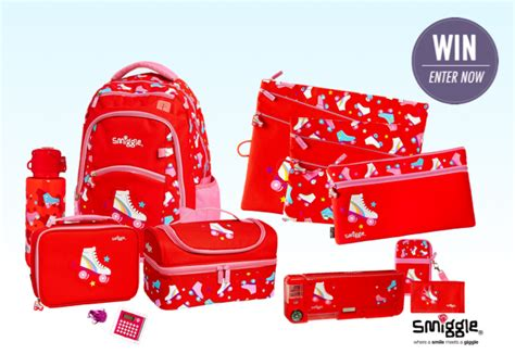 Smiggle Yay Fold Away Backpack Blue win 1 of 2 smiggle back to school packs competition