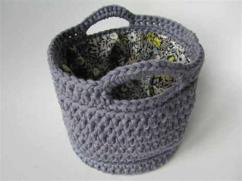 Corbeille Crochet Modele Gratuit