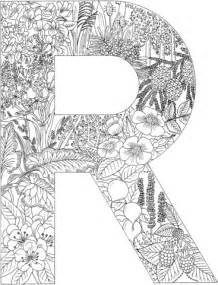 Ausmalbild Der Buchstabe R Ausmalbilder Kostenlos Zum