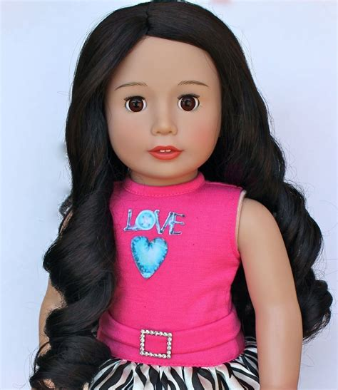 black doll brands our haired harmony club dolls brand 18 inch doll
