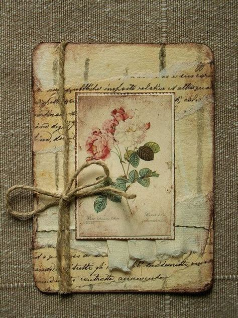 Vintage Handmade Cards - 17 best images about artist trading cards ideas on