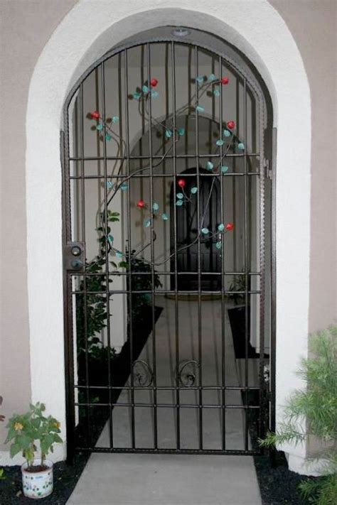 selecting the best iron security door homes design