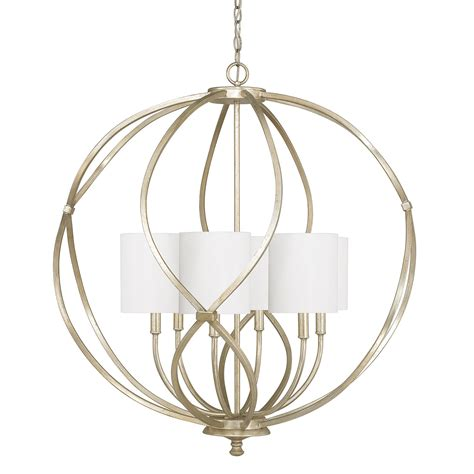 Capital Lighting Fixture Company Bailey Winter Gold Six Gold Light Fixtures
