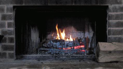Animated Fireplace by Fireplace Animated Gif