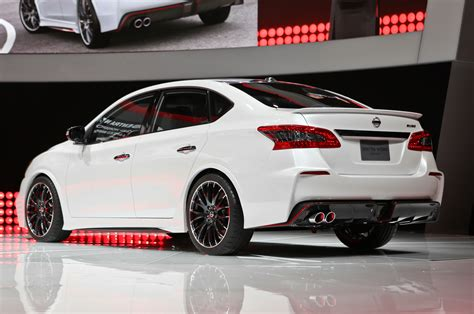 nismo nissan altima nissan sentra nismo concept debuts with 240 hp turbo i 4