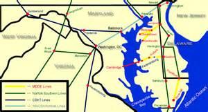 maryland delaware map maryland delaware railroad maps