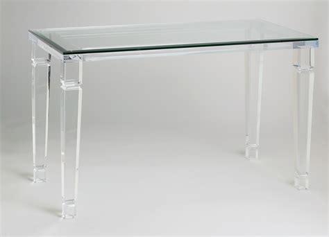 acrylic sofa table acrylic console tables muniz the line of acrylic