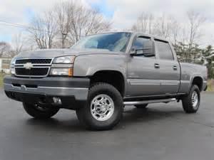 2006 chevy 2500hd lt 4x4 duramax diesel clean 81k