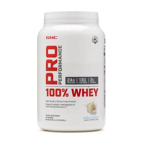 Whey Gnc gluten free protein powder gnc