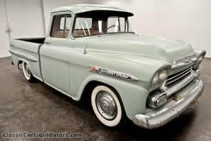 1959 chevrolet apache fleetside for sale classic
