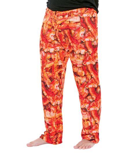 wear delicious novelty funny bacon lounge adult pants  men women