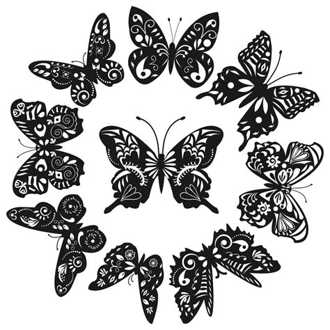 black and white butterfly tattoo designs butterfly designs that are more than just beautiful