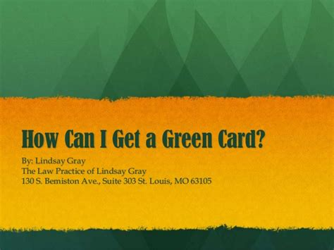 Can I Get A Green Card If I A Criminal Record How Can I Get A Green Card An Overview Of Possible Eligibility