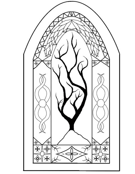 painting and colouring free stained glass windows no color by helghast5000 on deviantart