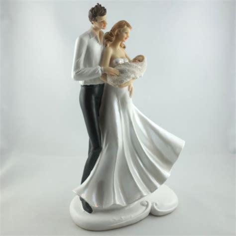 Torten Brautpaar by Brautpaar Figur Mit Baby Tortendeko Kleine Familie