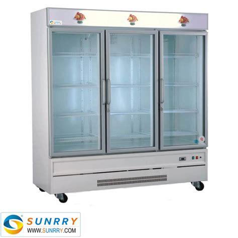 Commercial Glass Door Supermarket Used Display Commercial Glass Door Refrigerator Used