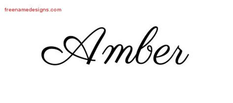 tattoo ideas for the name amber amber archives page 2 of 2 free name designs