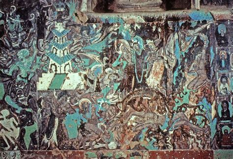 the cacouna caves and the mural books mahasattva jataka cave 254 mogao caves