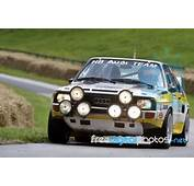 Classic Swb Audi Quattro Wrc Stock Photo  Royalty Free
