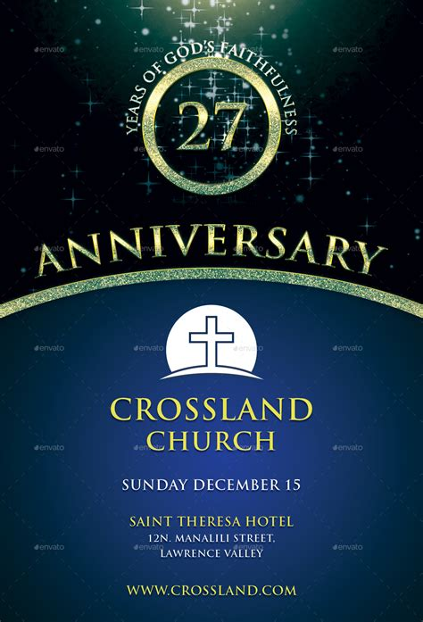 church flyer template church anniversary flyer templates www imgkid the
