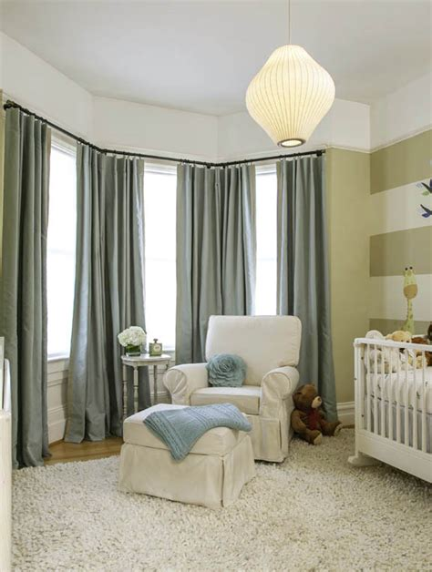bay window blackout curtains noe valley nursery with blackout and sound reducing