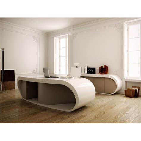 Convertible Dining Room Pool Table Bureau De Direction Goggle Blanc Brillant Et Gris