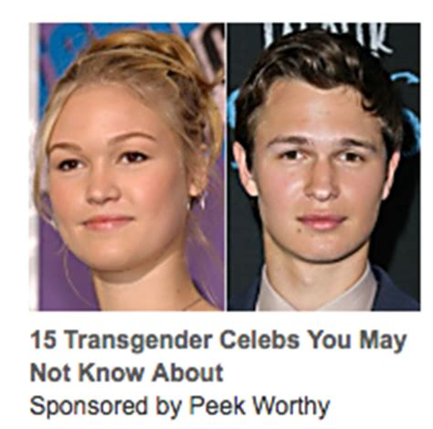 julia stiles is she transgender 15 transgender celebs you may not know about links to