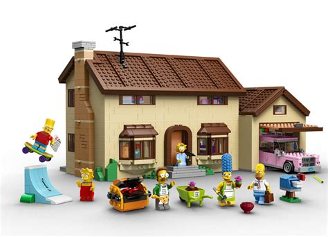 lego house video lego simpsons house officially revealed 71006 with design video
