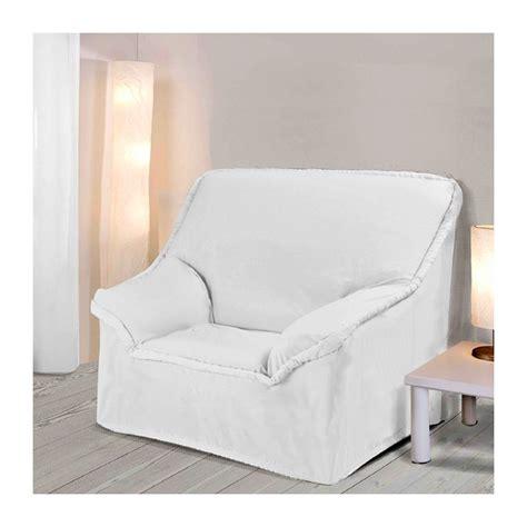 housses pour fauteuils housse fauteuil a accoudoirs ecru