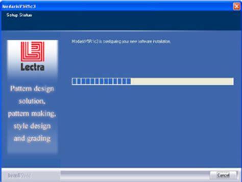 lectra pattern design software install update modarisv5r1 lectra pattern making